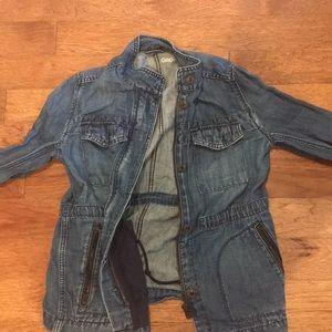 $25 OBO XS gap utility denim jacket